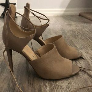 Marc Fisher Taupe Heels